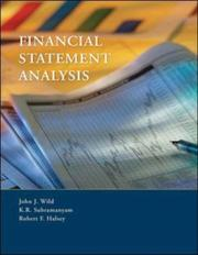 Financial statement analysis by John J. Wild