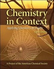 Cover of: Chemistry in Context | American Chemical Society.