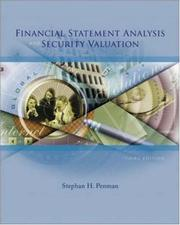 Cover of: Financial statement analysis and security valuation | Stephen H. Penman