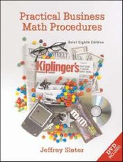 Cover of: Practical Business Math Procedures, Brief Edition, with DVD and Business Math Handbook