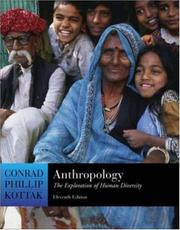 Cover of: Anthropology | Conrad Phillip Kottak