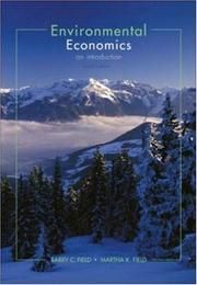 Cover of: Environmental Economics | Barry C. Field