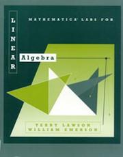 Mathematica labs for Linear algebra