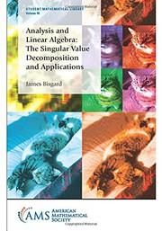 Analysis and Linear Algebra