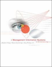 Cover of: Management Information Systems for the Information Age with CD and MISource