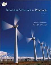 Cover of: Business Statistics in Practice with student cd