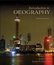 Cover of: Introduction to Geography | Arthur Getis
