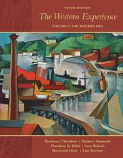 Cover of: The Western Experience, Volume C, with Primary Source Investigator and PowerWeb | Mortimer Chambers