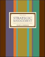 Cover of: Strategic Management with Premium Content Card and Business Week Subscription | John Pearce
