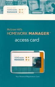 Cover of: McGraw-Hill's Homework Manager Access Card to accompany FAP 18e