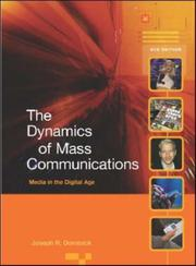 Cover of: Dynamics of Mass Communications