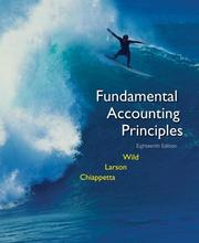 Cover of: MP Fundamental Accounting Principles Vol 1 (Chs 1-12) with Circuit City Annual Report | John J. Wild