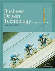 Cover of: Business Driven Technology with MISource 2007 and Student CD