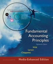 Cover of: MP Fundamental Accounting Principles Media Enhanced Edition with Circuit City Annual Report and iPod Content  CD | John J. Wild