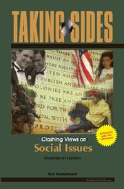 Cover of: Taking Sides: Clashing Views on Social Issues, Expanded (Taking Sides: Clashing Views on Controversial Social Issues)