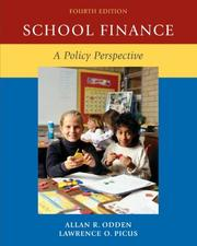 Cover of: School Finance | Allan R Odden