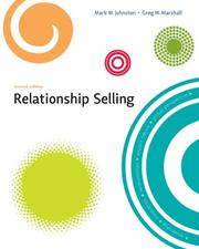 Relationship Selling by Mark W. Johnston, Greg W. Marshall