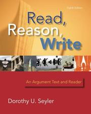 Cover of: Read, Reason, Write