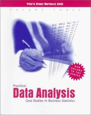 Cover of: Practical Data Analysis, Volume III | Peter G. Bryant