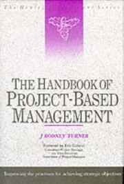 The handbook of project-based management by J. Rodney Turner