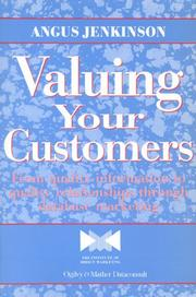 Valuing your customers by Angus Jenkinson