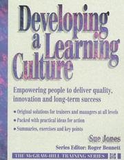 Developing a Learning Culture by Sue Jones