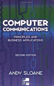 Cover of: Computer Communications