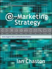 Cover of: E-Marketing Strategy