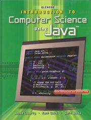 Cover of: Introduction To Computer Science Using Java, Student Edition | McGraw-Hill