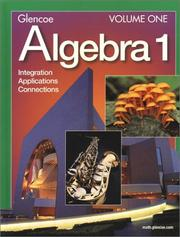 Cover of: Algebra 1 | Foster