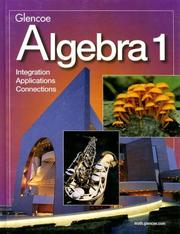 Cover of: Algebra 1