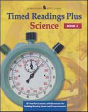 Cover of: Timed readings plus in science