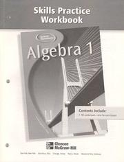 Cover of: Algebra 1, Skills Practice Workbook