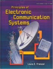 Cover of: Principles of Electronic Communication Systems