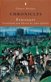 Cover of: Froissart's Chronicles