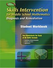 Cover of: Skills Intervention for Middle School Mathematics
