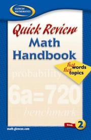 Cover of: Quick Review Math Handbook