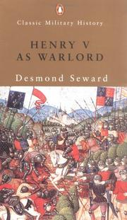 Cover of: Henry V as Warlord (Classic Military History)
