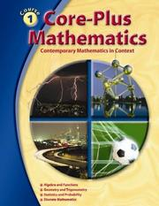 Cover of: Core-Plus Mathematics