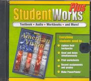 Cover of: The American Vision, StudentWorks Plus CD-ROM
