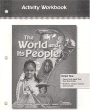 Cover of: The World and Its People, Activity Workbook | McGraw-Hill