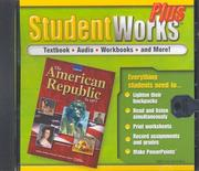 Cover of: The American Republic to 1877, StudentWorks Plus CD-ROM