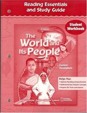 Cover of: The World and Its People, Eastern Hemisphere, Reading Essentials and Study Guide, Workbook | McGraw-Hill