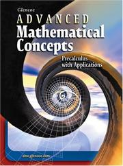 Cover of: Advanced Mathematical Concepts