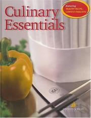 Cover of: Culinary Essentials