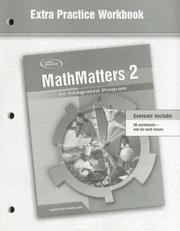 Cover of: MathMatters 2