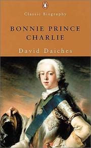 Cover of: Bonnie Prince Charlie (Classic Biography)