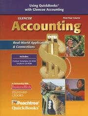 Cover of: Glencoe Accounting | McGraw-Hill
