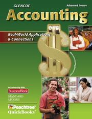 Cover of: Glencoe Accounting Advanced Course