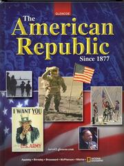 Cover of: The American Republic Since 1877